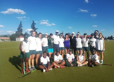 Coaching clinic by Karoo Hockey School