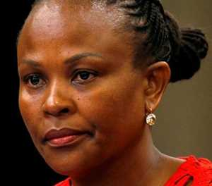 Mkhwebane and Ramaphosa in a stand-off over Gordhan