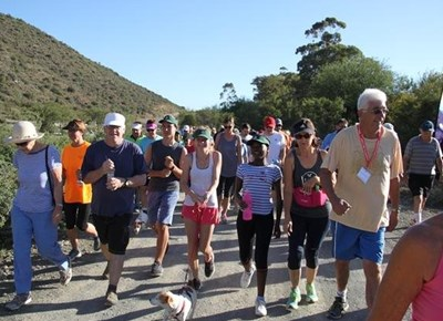 Weekly parkrun attracts a crowd
