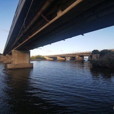 Klein Brak River Bridge not open today