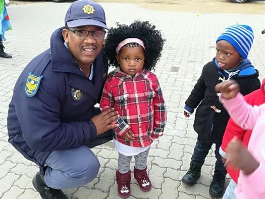 KwaNonqaba police celebrate children