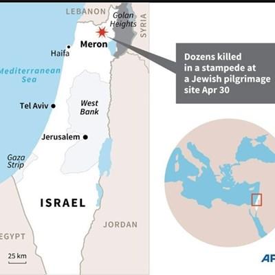 'Dozens killed' in Israel pilgrimage stampede