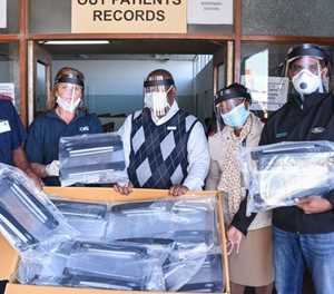 Ford Face Shields Production Continues as COVID-19 Infections Continue Climbing in South Africa