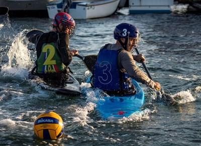 Canoe polo makes a welcome return