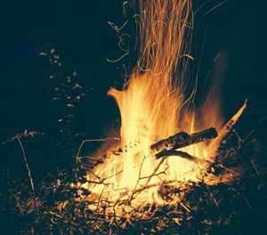 Veld fire warning