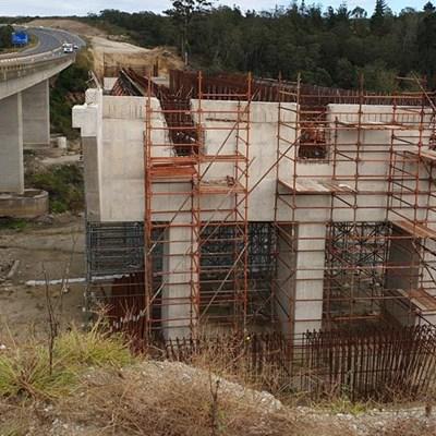 Bridge project halted