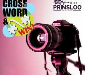 MONTHLY CROSSWORD: WIN A PROFESSIONAL PHOTO SHOOT VOUCHER WORTH R400 FROM PRINSLOO PHOTOGRAPHY