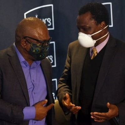 Johannesburg mayor tests negative for Covid-19