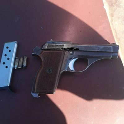 Duo arrested for possession of illegal firearms and ammunition