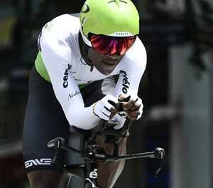 Dlamini first black South African rider on Tour de France