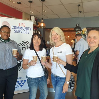 Life launches 'coffee with a cause'