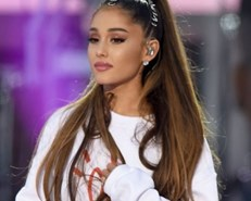 Ariana Grande sues fashion firm over 'lookalike model'