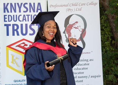 Photo session with Knysna Education Trust
