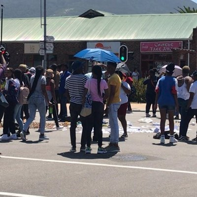 Update: South Cape College protest