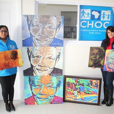 George artist donates Madiba paintings