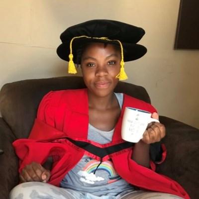 First Oprah Winfrey Academy alumnus graduates with PhD