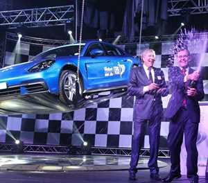 Porsche takes top honours