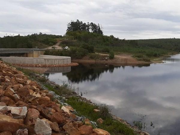 Latest update: Garden Route Dam level