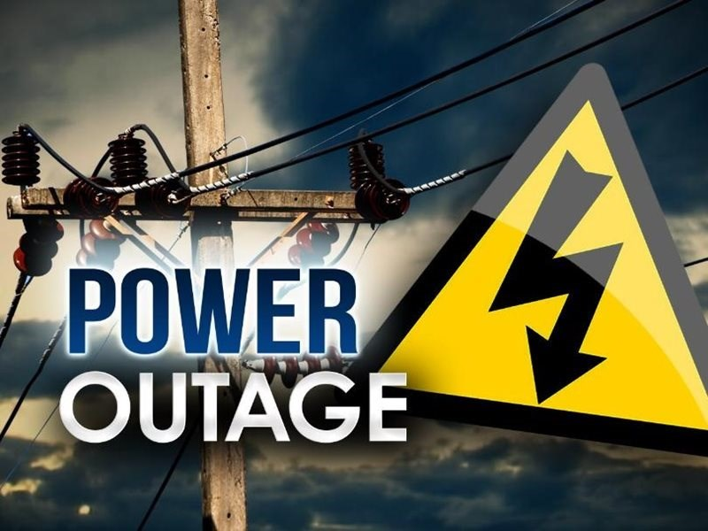 Planned power outage - Wilderness