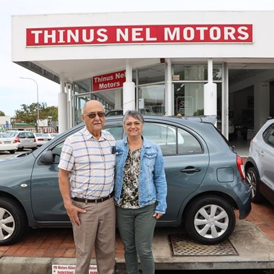 Thinus Nel says thank you for the loyal support