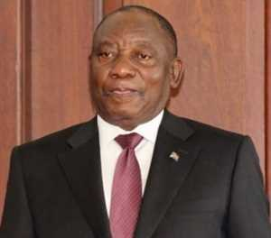Cyril Ramaphosa elected as president unopposed