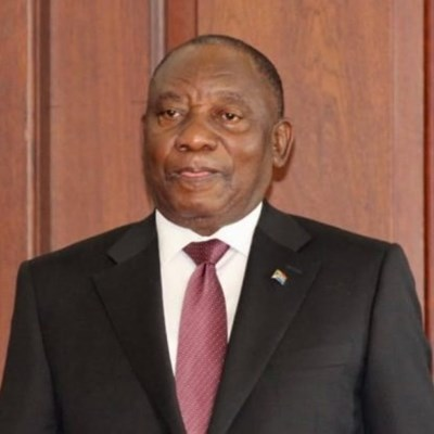 Cyril Ramaphosa elected as president