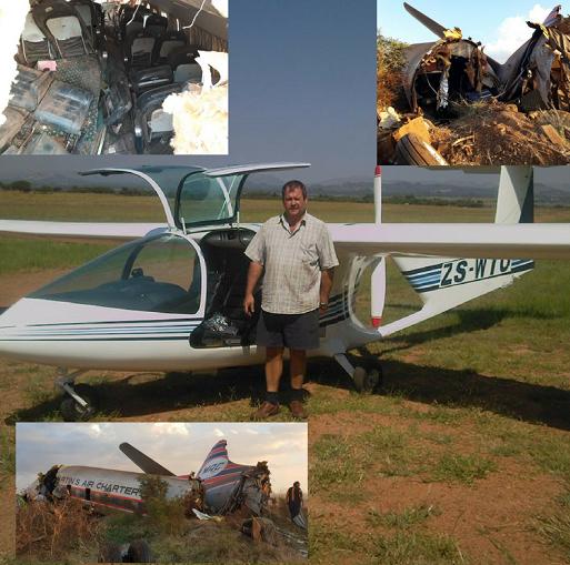 Pretoria man dies in plane crash   Suid-Kaap Forum