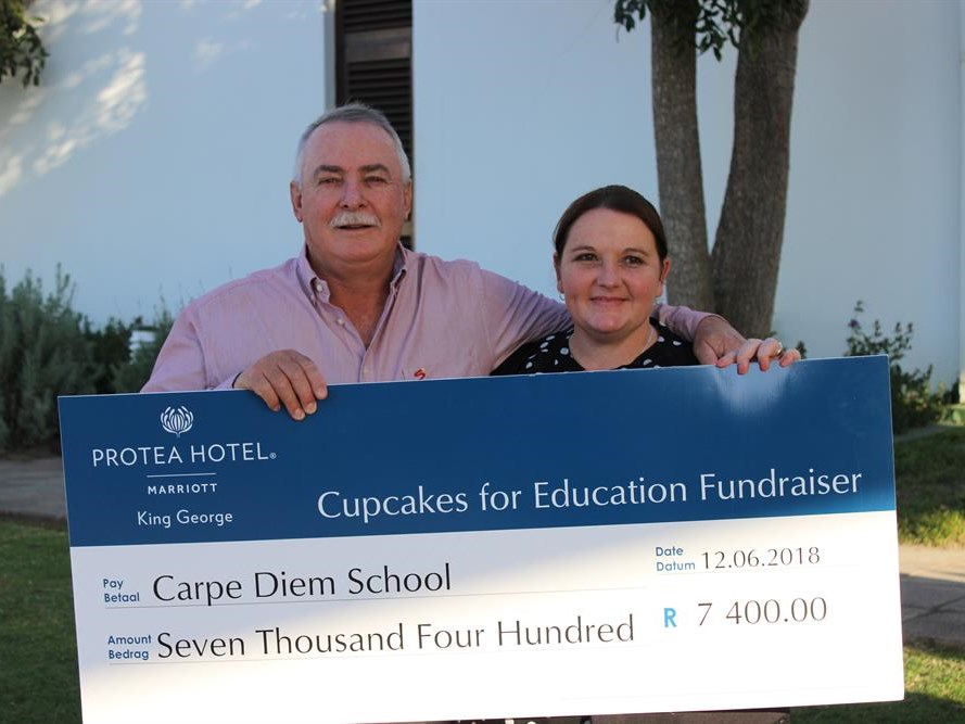 Support Cupcakes for Education project