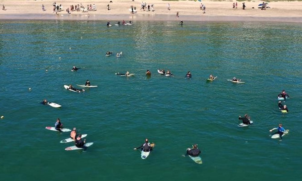 Paddle-out for Durr Meyer