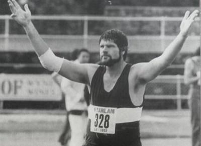 Herman Potgieter, voormalige SA spiesgooikampioen
