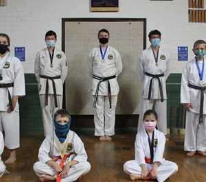 3 snatch gold in virtual kata tournament