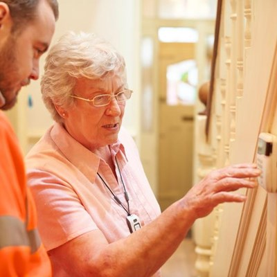 Smart safety options for senior homeowners