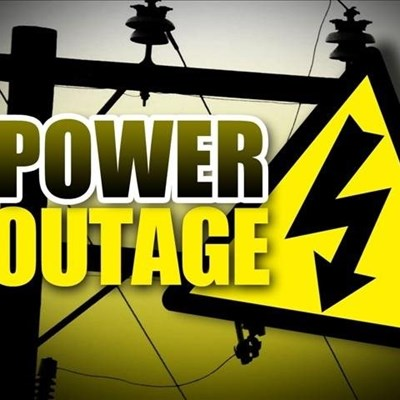 Power outage: Sunday 8 September