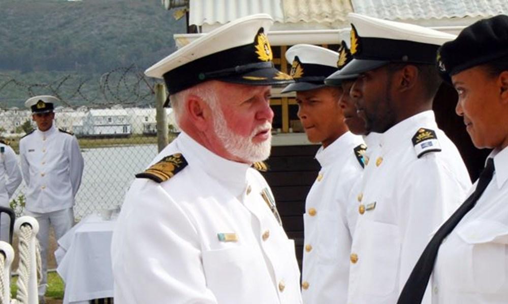 Commander Steve Eriksen retires
