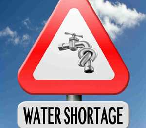Moenie met water mors nie