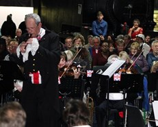 Proms concert attracts full house