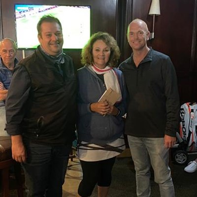Great camaraderie at Wilderness Hotel's first squash tournament