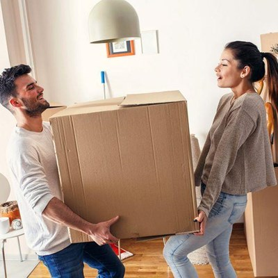 Make moving in together a pleasure