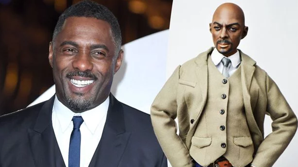 Idris Elba hilariously responds to his Gigaba-looking doll