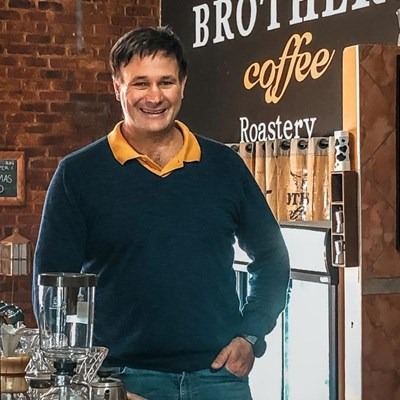 Brothers Coffee - a top brand right on your doorstep