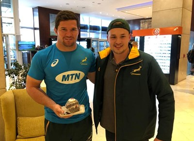 MTN Bozza Mark Nancarrow travels with Springboks