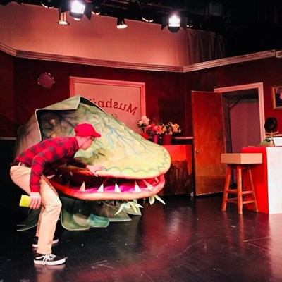 Little Shop of Horrors on stage