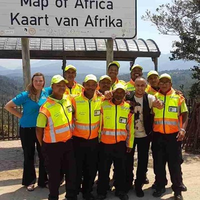 Wilderness monitors trained for tourism