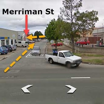 Merriman Street closure for upgrade