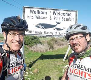 Cycling doctors raise funds