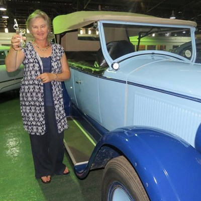 Focus on water after queasy Vintage Tour