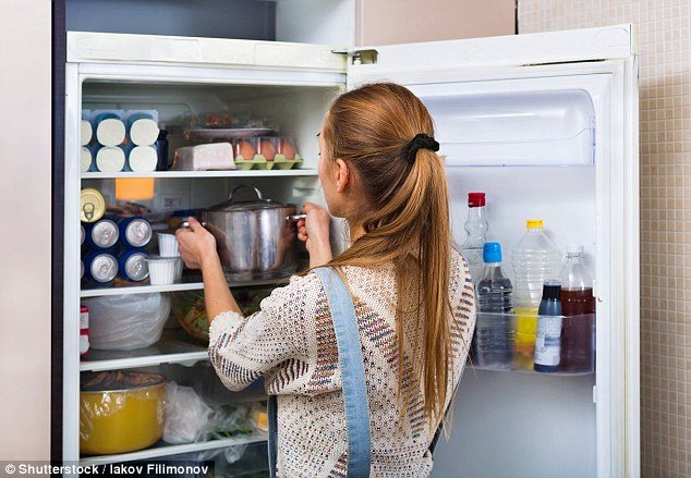 You Can Drinks And Condiments In The Fridge Door Since It Is Warmest Spot