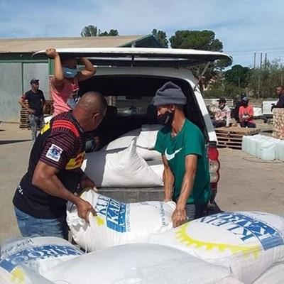 Water Warriors se hulp dankbaar ontvang