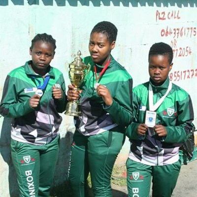 Thembalethu boxers selected for WP