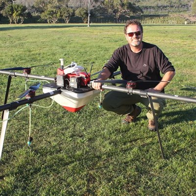 Drones to tackle invasive plants